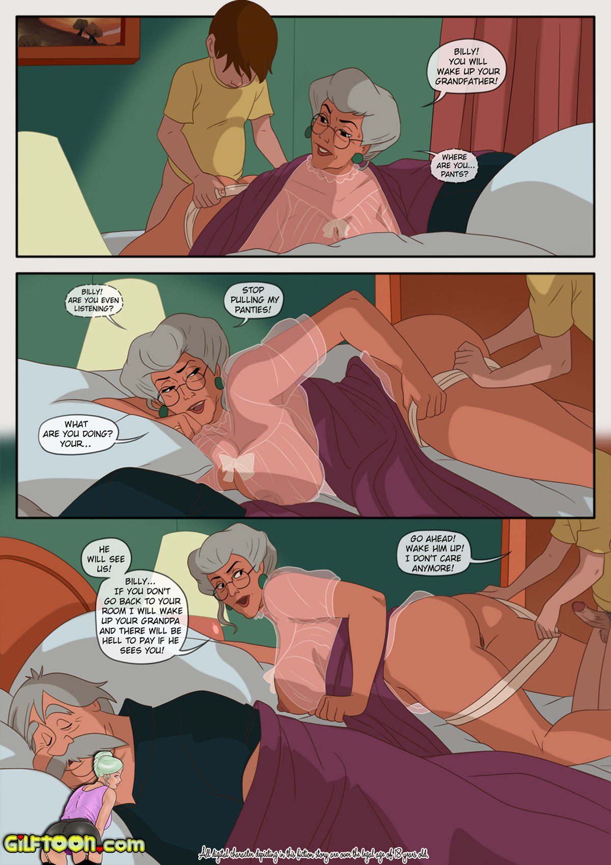 "Porn comic ""Lunch Time 2"" - page 14"