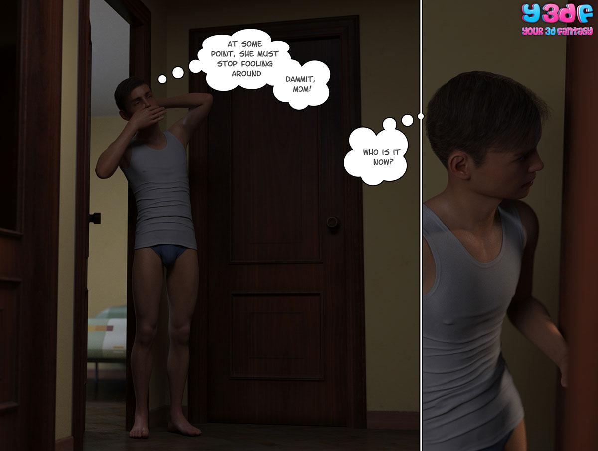 """Y3DF comic """"Circle"""" - page 3"""