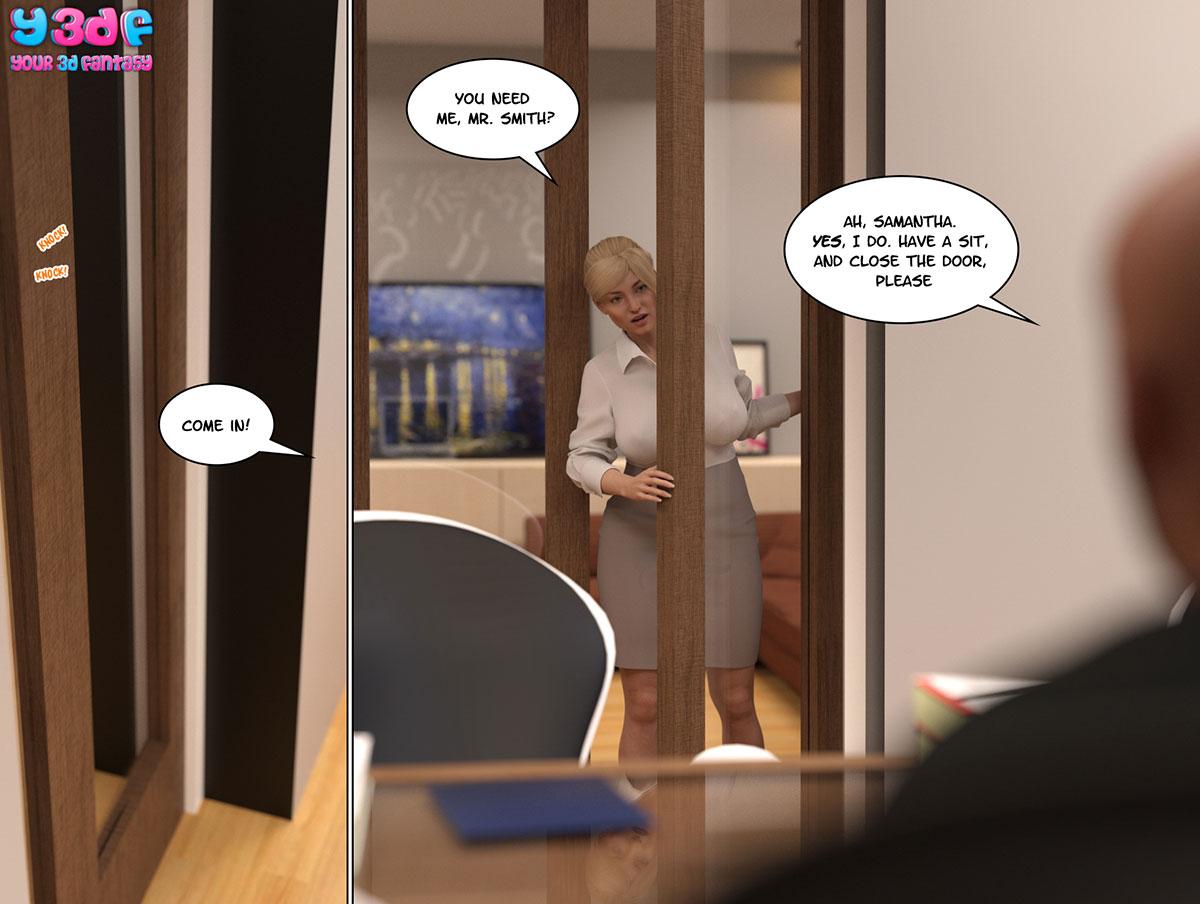 """Y3DF comic """"Circle"""" - page 33"""