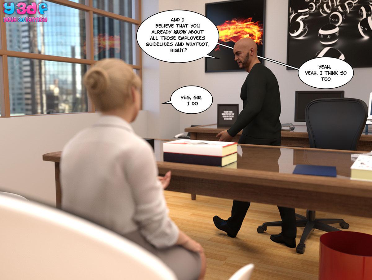 """Y3DF comic """"Circle"""" - page 35"""