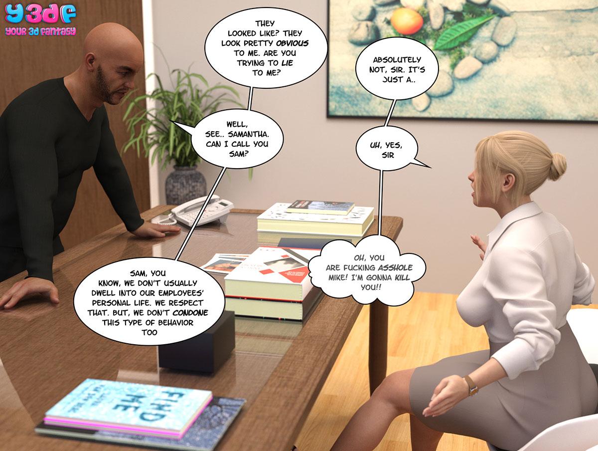 """Y3DF comic """"Circle"""" - page 38"""