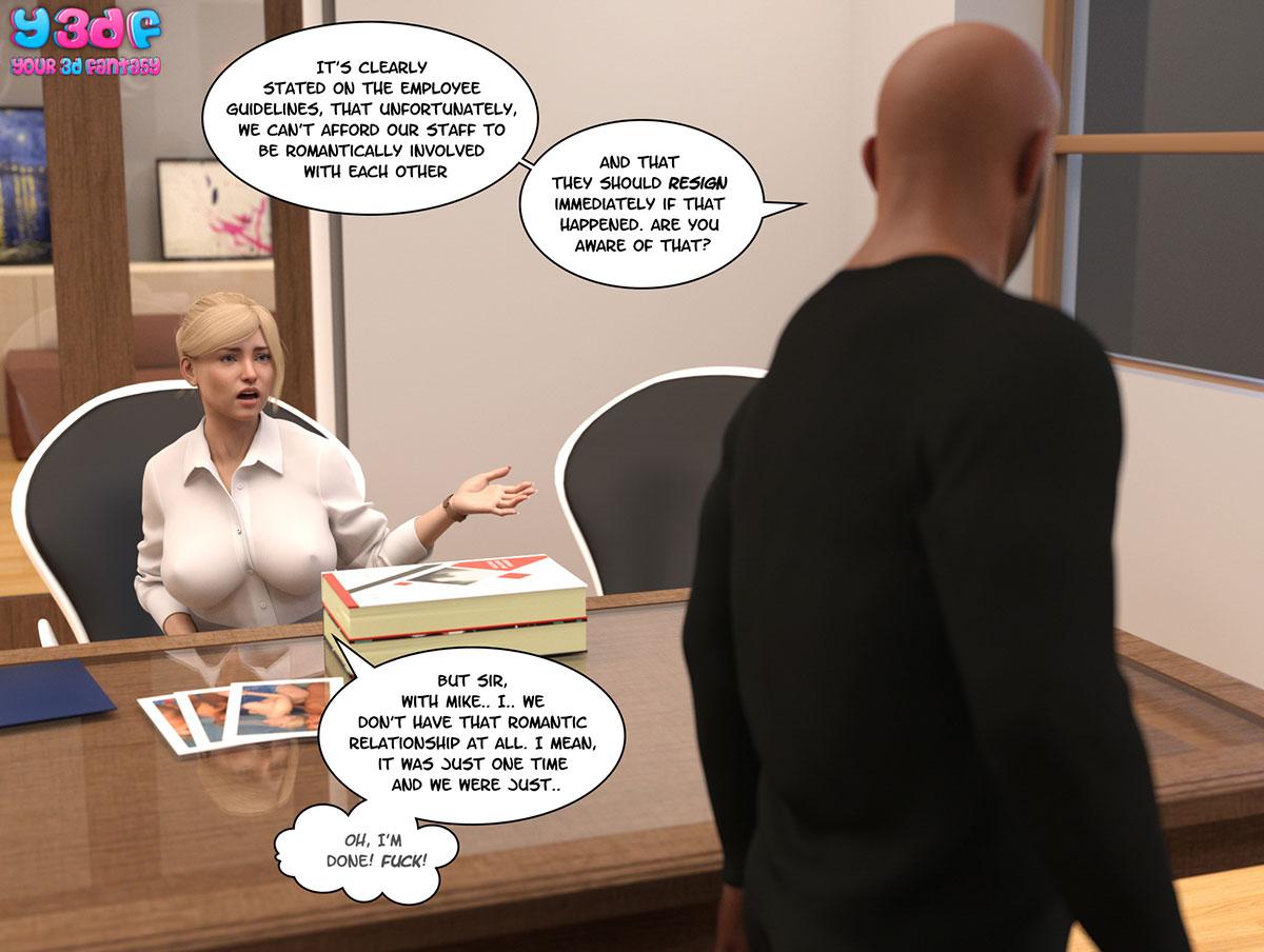 """Y3DF comic """"Circle"""" - page 39"""
