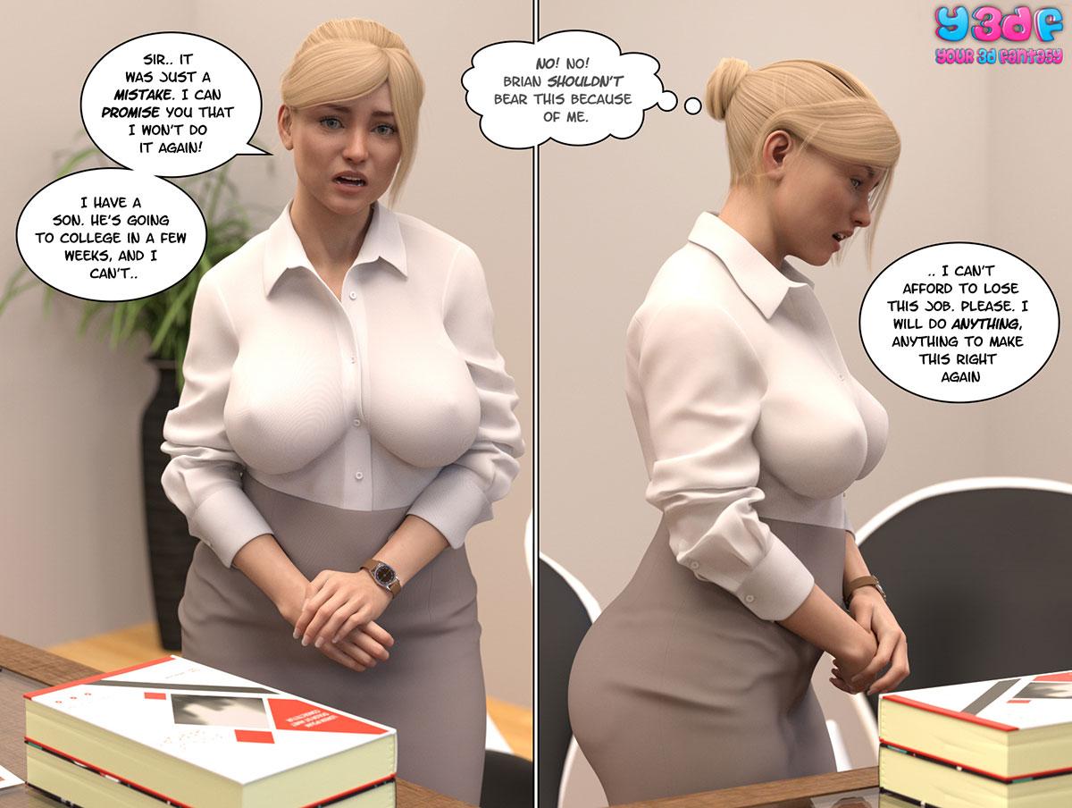 """Y3DF comic """"Circle"""" - page 42"""