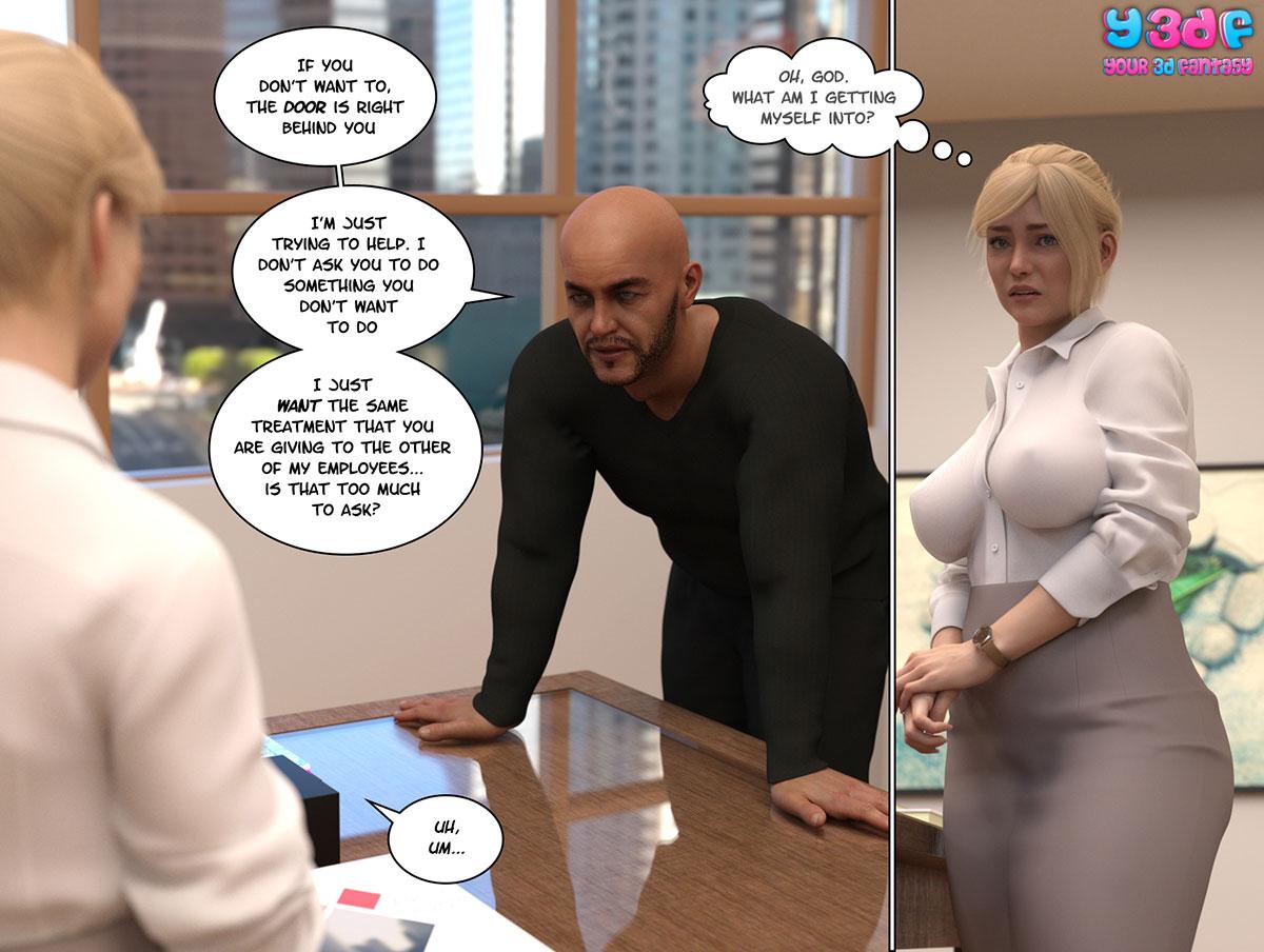 """Y3DF comic """"Circle"""" - page 44"""