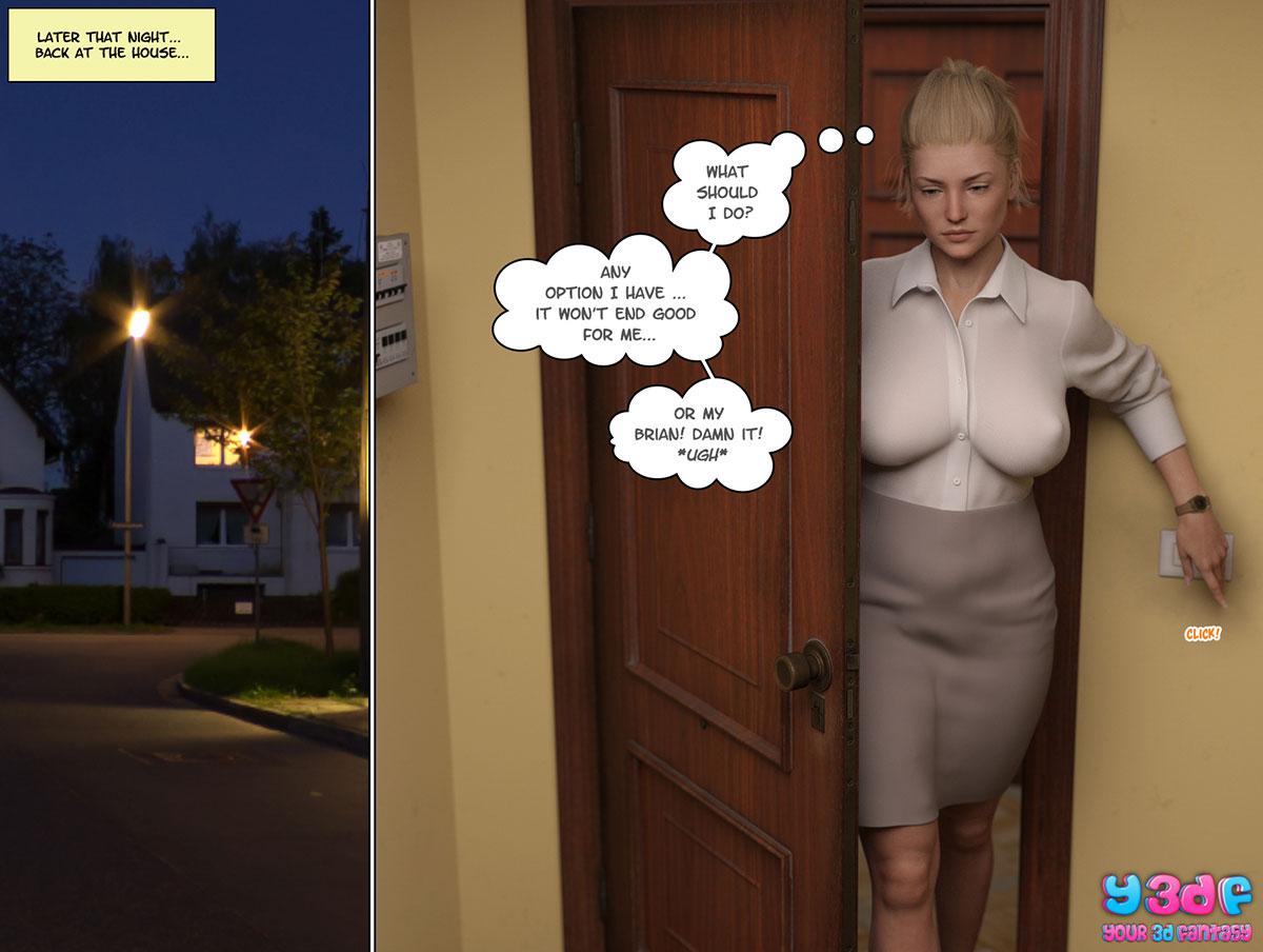 """Y3DF comic """"Circle"""" - page 62"""