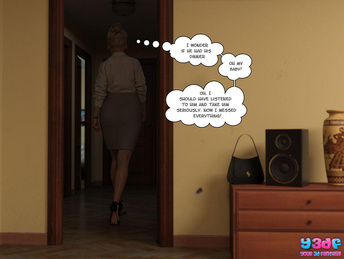 """Y3DF comic """"Circle"""" - page 64"""