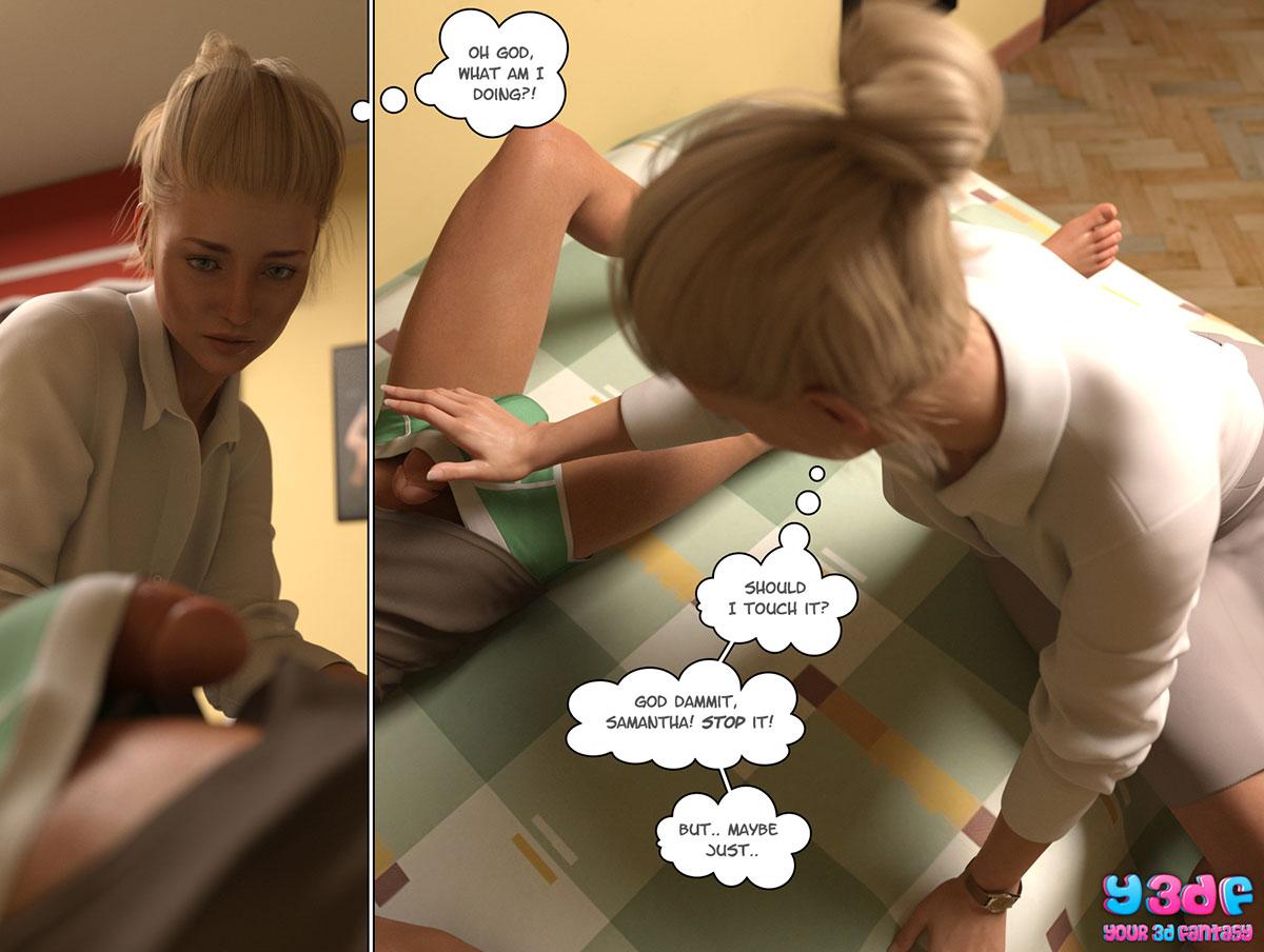 """Y3DF comic """"Circle"""" - page 70"""