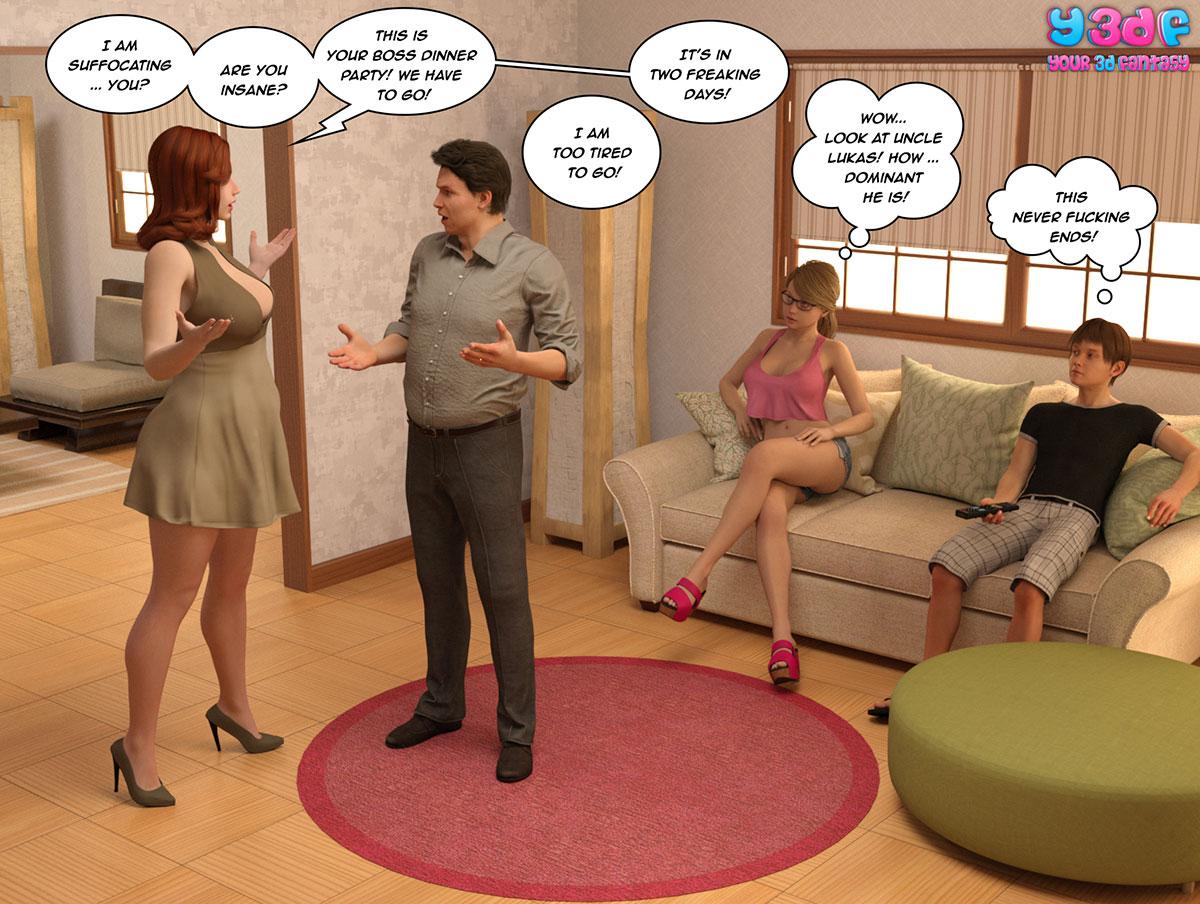 """Y3DF comic """"The Bad Tan 2"""" - page 2"""