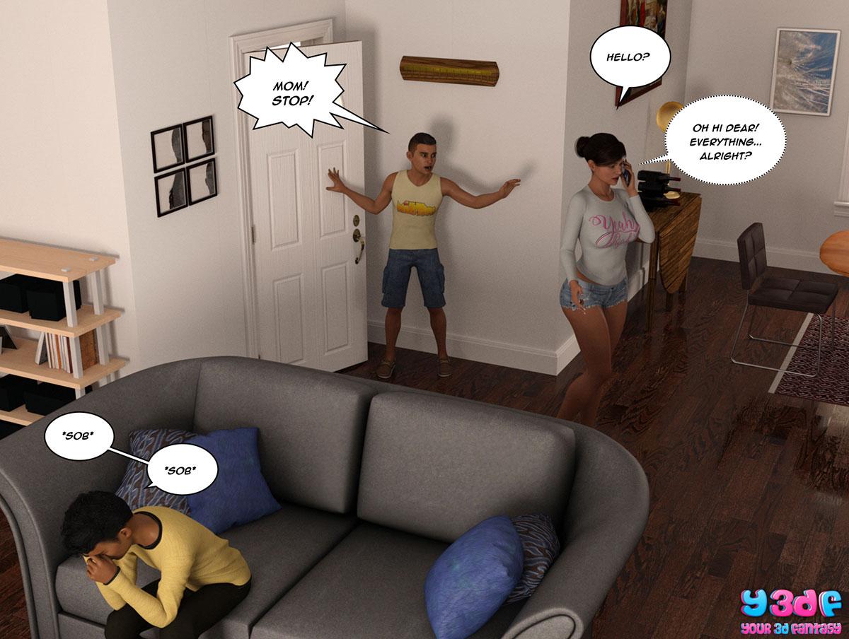 """Y3DF comic """"The Bad Tan 2"""" - page 24"""
