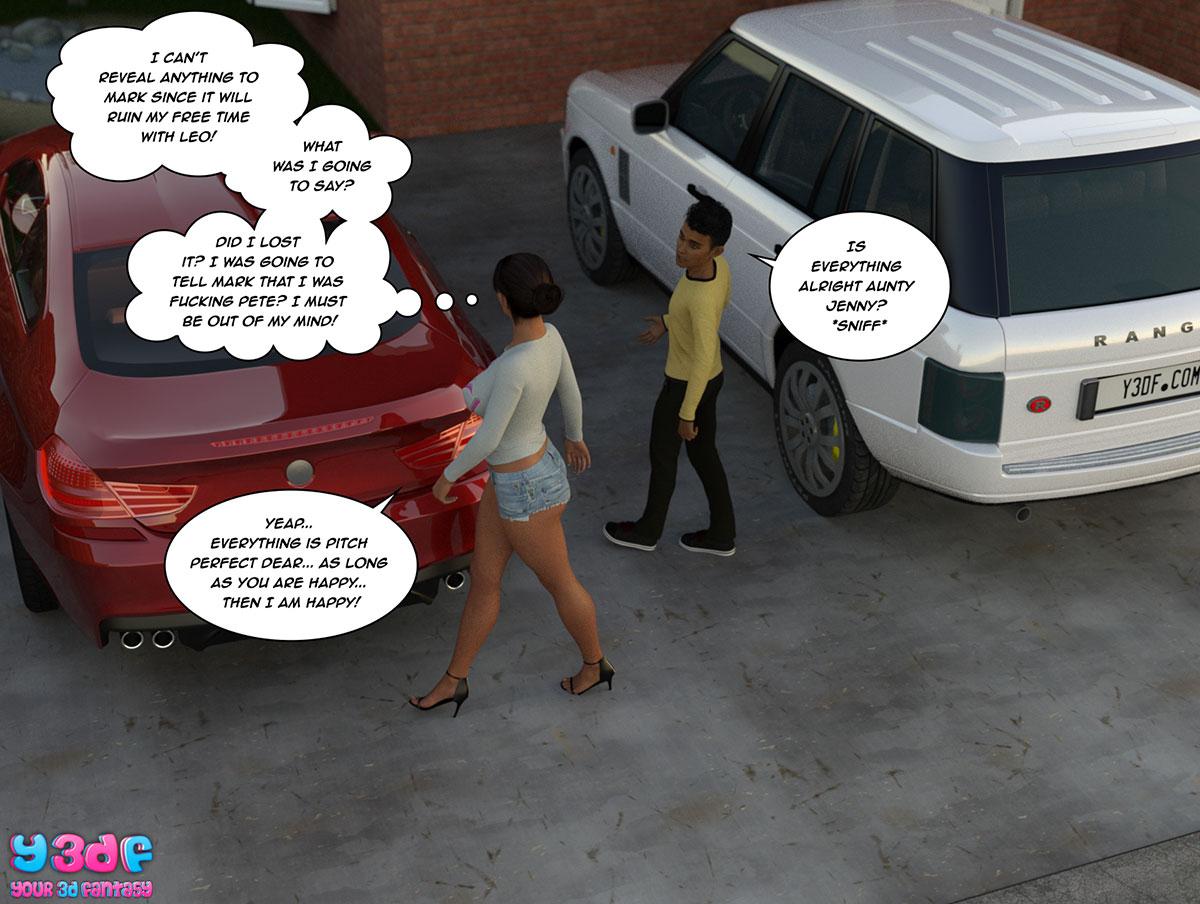 """Y3DF comic """"The Bad Tan 2"""" - page 32"""