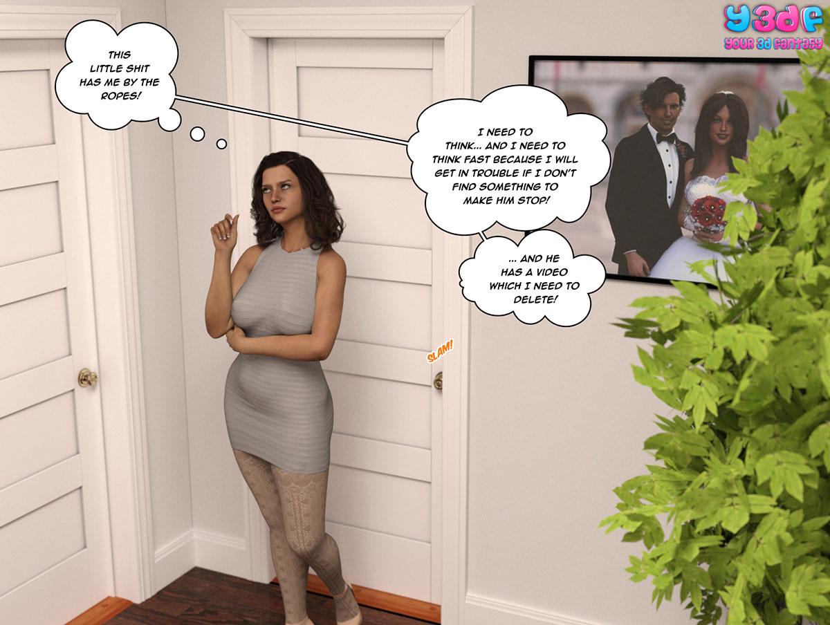 """Y3DF comic """"The Bad Tan 2"""" - page 56"""