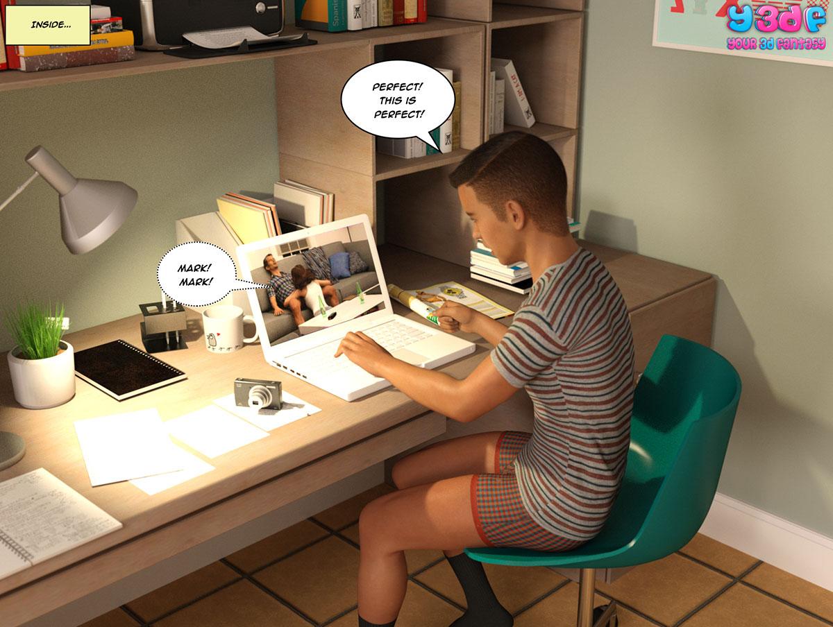 """Y3DF comic """"The Bad Tan 2"""" - page 57"""