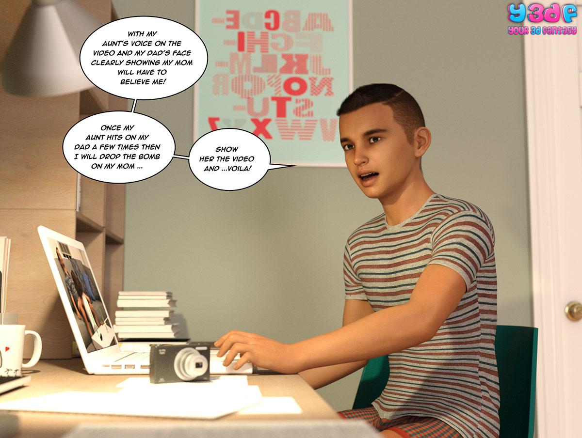 """Y3DF comic """"The Bad Tan 2"""" - page 58"""