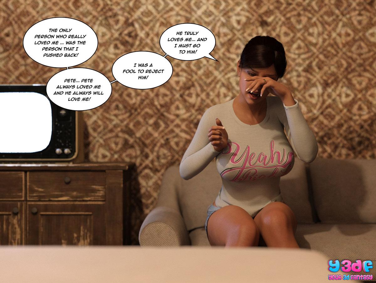 """Y3DF comic """"The Bad Tan 3"""" - page 107"""