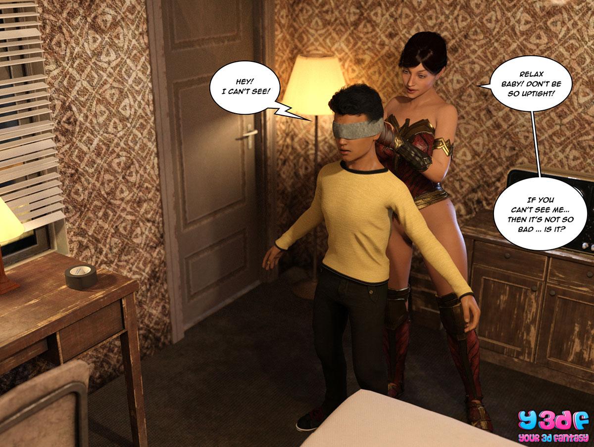 """Y3DF comic """"The Bad Tan 3"""" - page 11"""