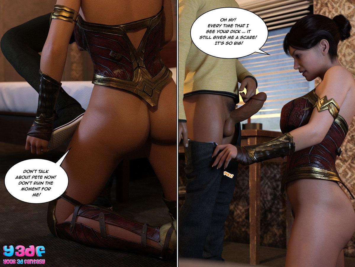 """Y3DF comic """"The Bad Tan 3"""" - page 14"""