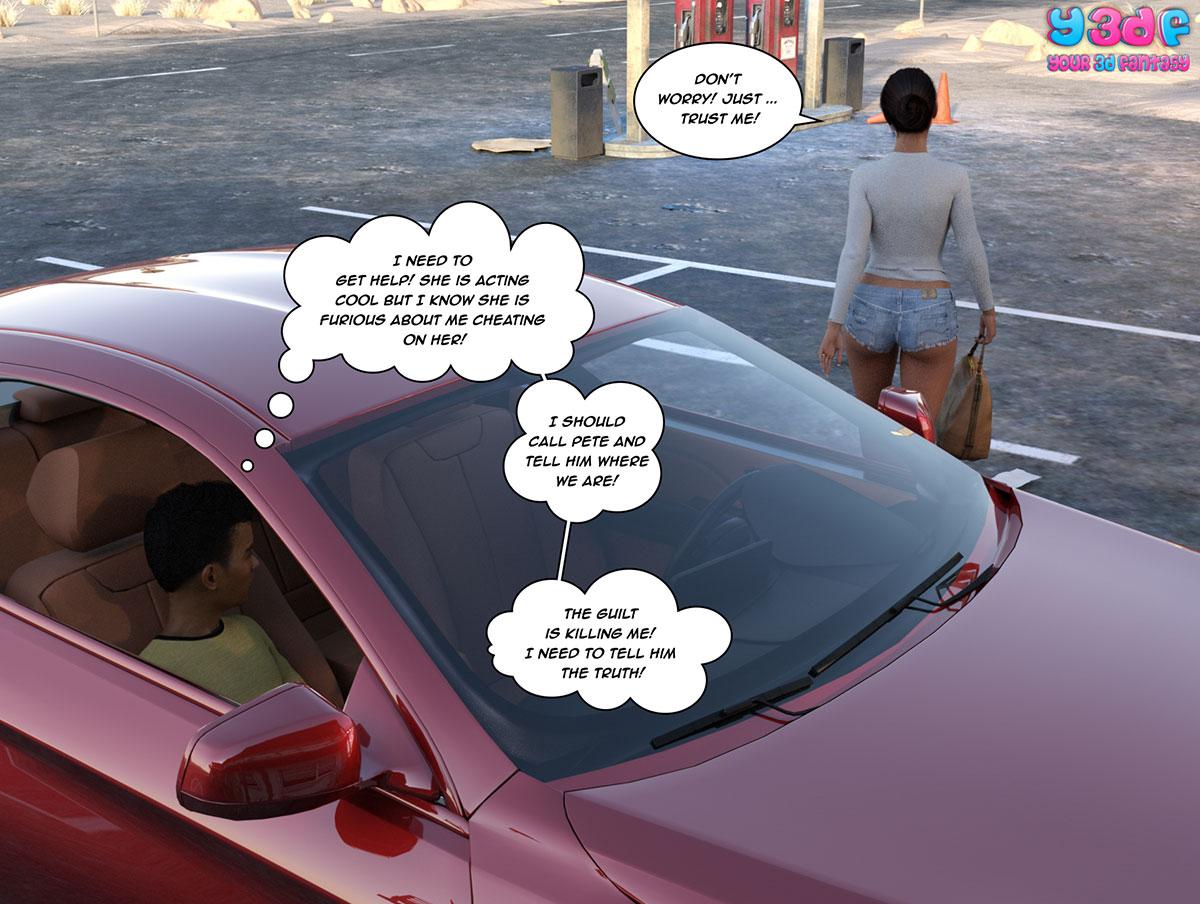 """Y3DF comic """"The Bad Tan 3"""" - page 4"""