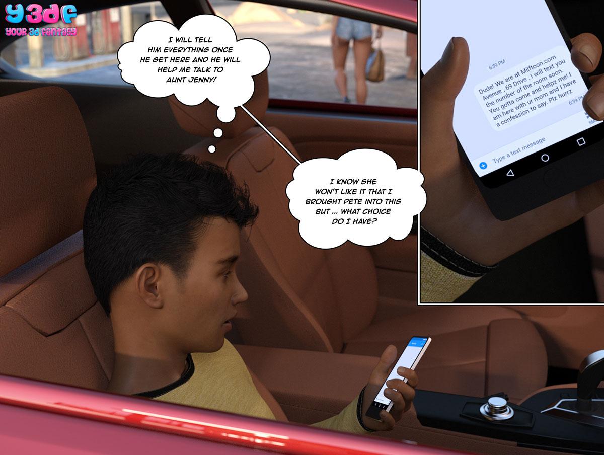 """Y3DF comic """"The Bad Tan 3"""" - page 5"""