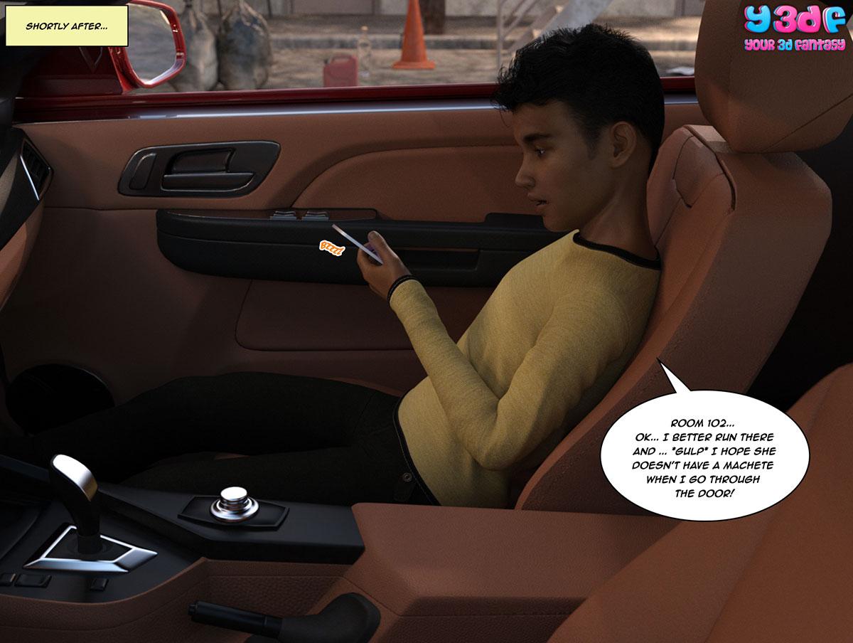 """Y3DF comic """"The Bad Tan 3"""" - page 6"""