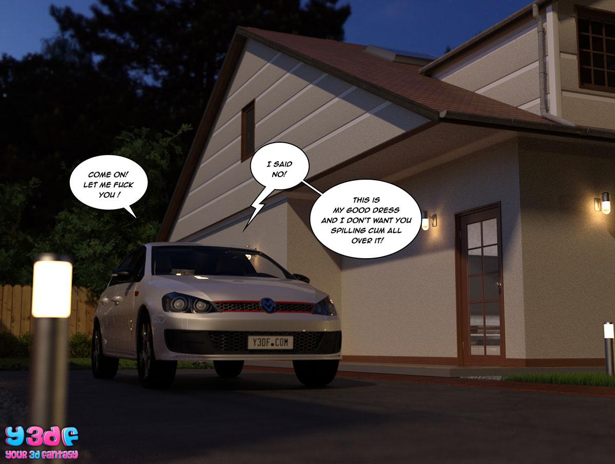 """Y3DF comic """"The Bad Tan 3"""" - page 64"""