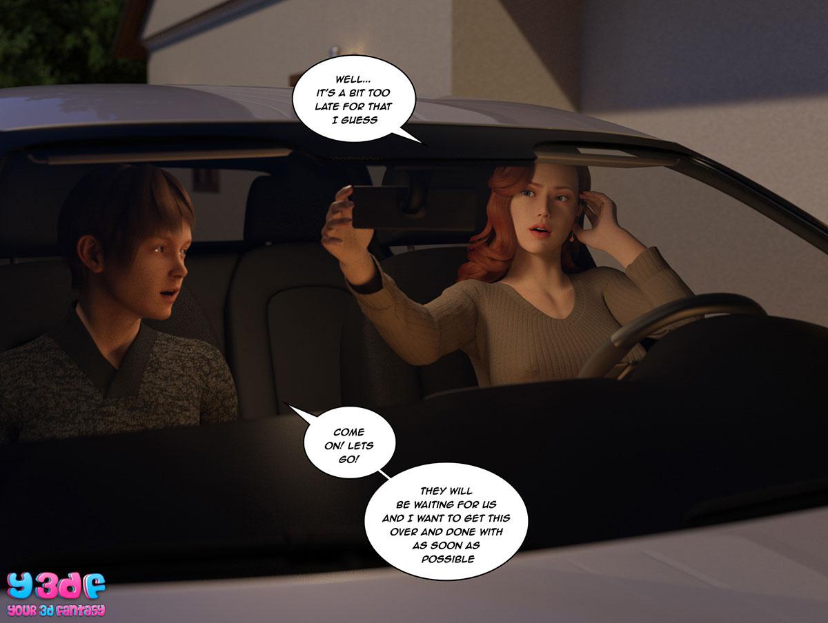 """Y3DF comic """"The Bad Tan 3"""" - page 68"""