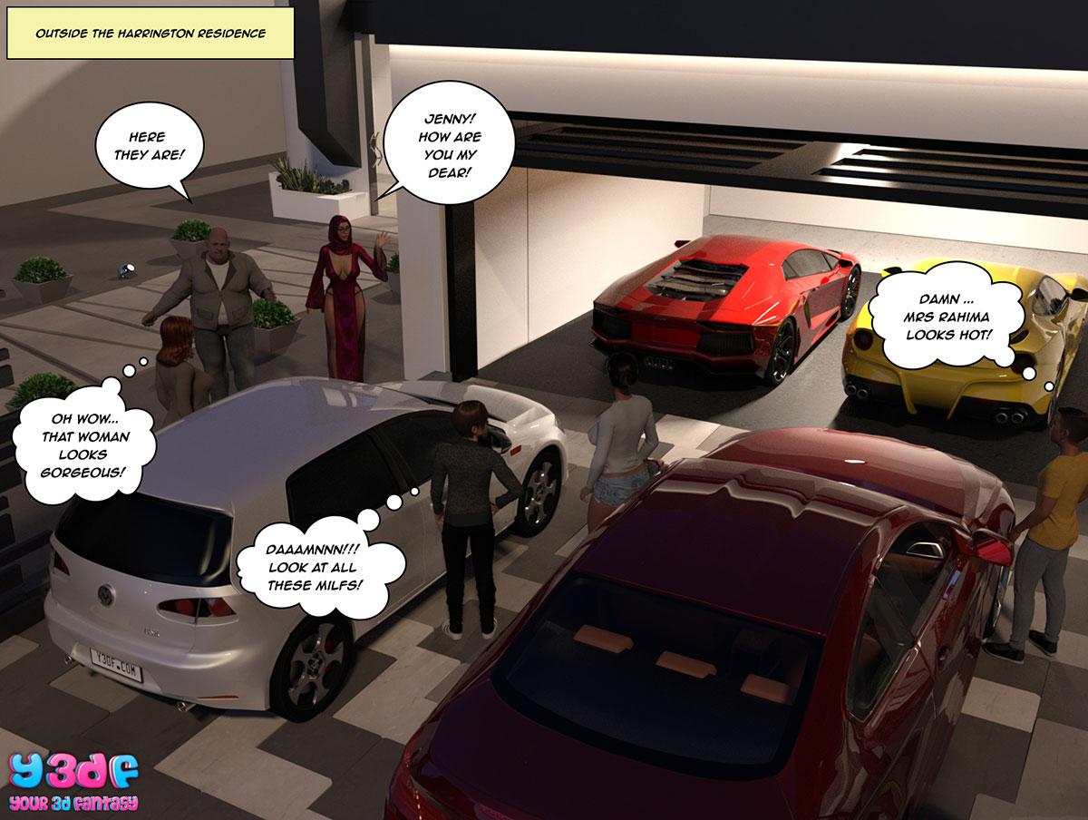 """Y3DF comic """"The Bad Tan 3"""" - page 70"""