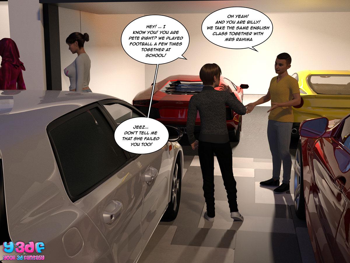 """Y3DF comic """"The Bad Tan 3"""" - page 71"""