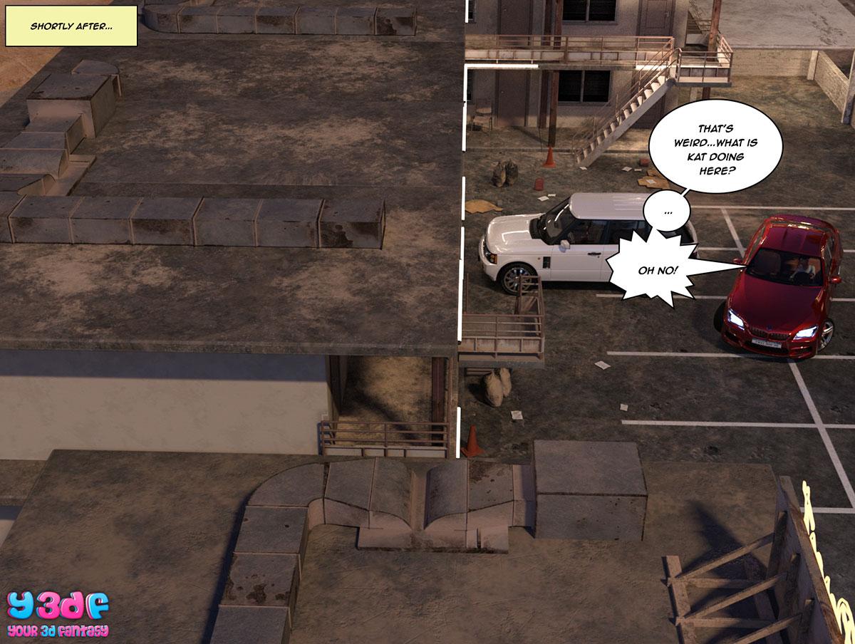 """Y3DF comic """"The Bad Tan 3"""" - page 77"""
