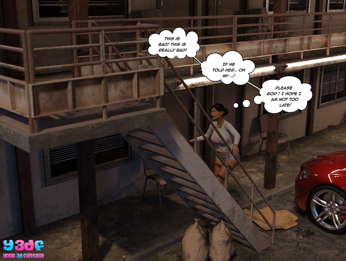 """Y3DF comic """"The Bad Tan 3"""" - page 78"""