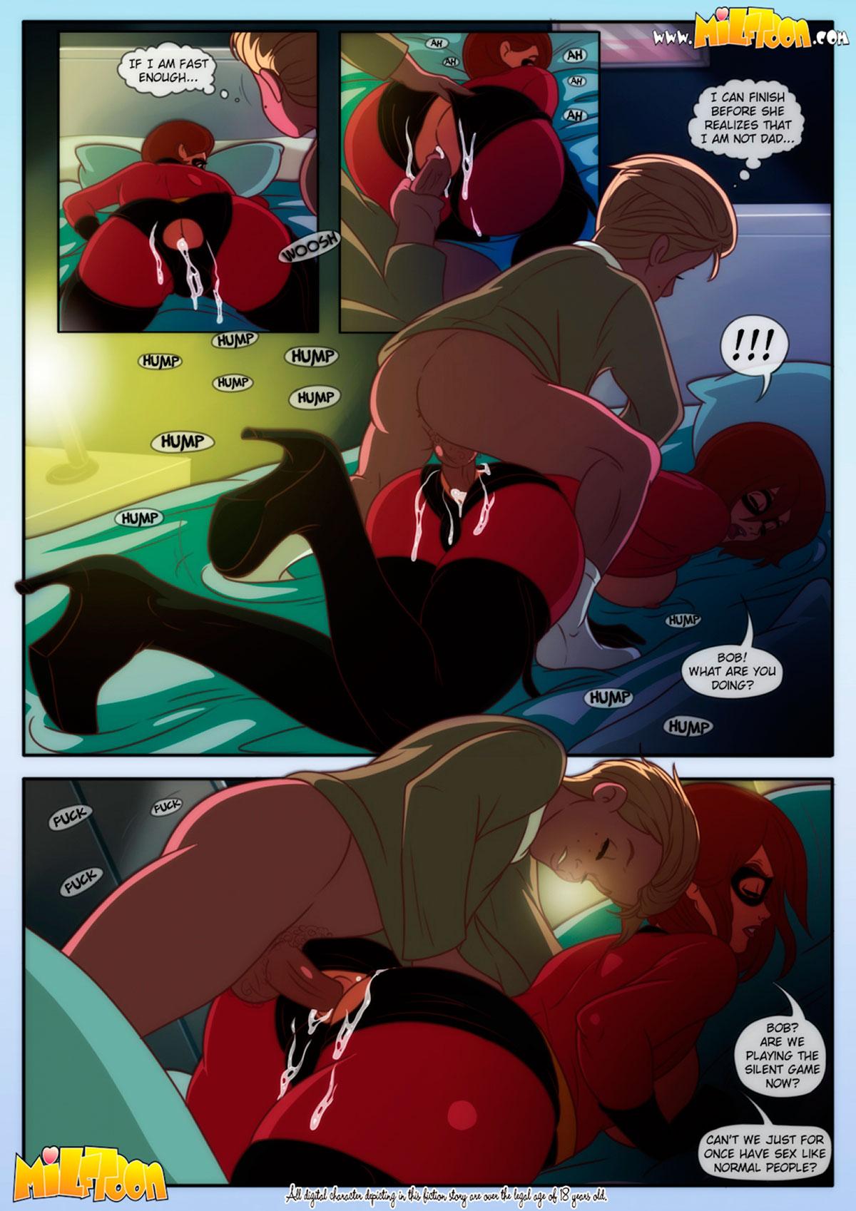 "Milftoon comic ""Elasticmilf"" - page 7"