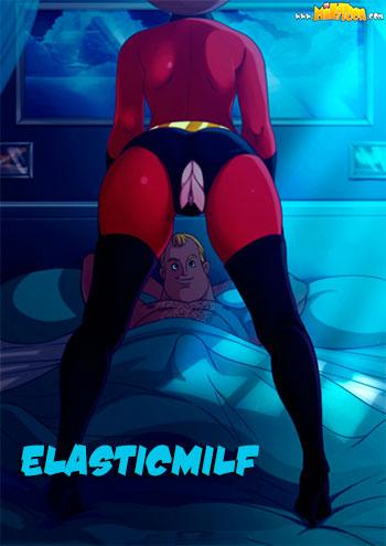 "Porn comic ""Elasticmilf"""