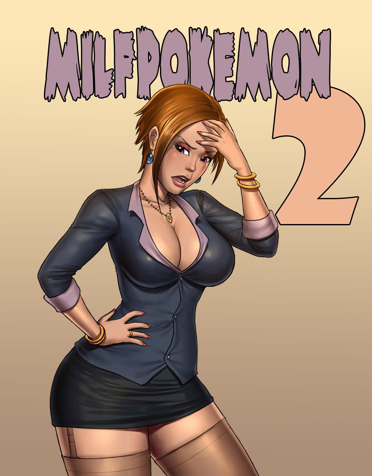 "Milftoon comic ""Milfpokemon Pre-Go 2"""