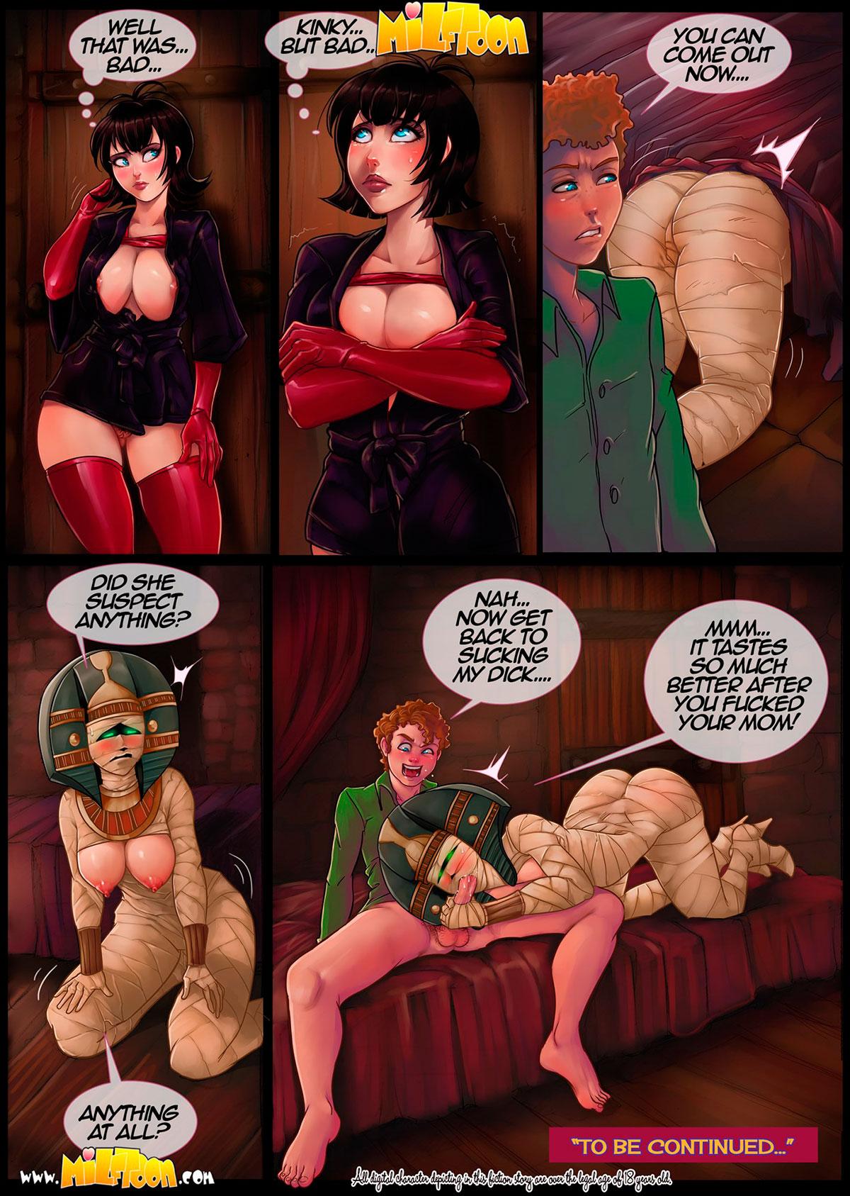 "Milftoon comic ""Transylvania Milf 2"" - page 20"