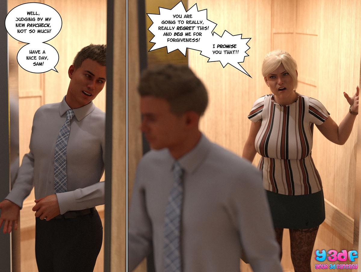 """Y3DF comic """"Circle 3"""" - page 11"""