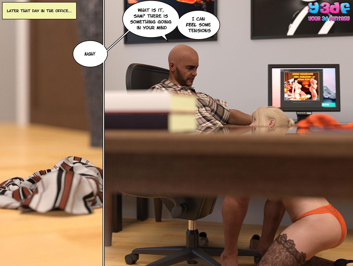 """Y3DF comic """"Circle 3"""" - page 12"""