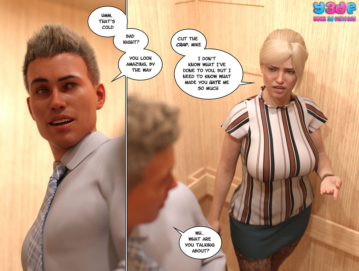 """Y3DF comic """"Circle 3"""" - page 3"""
