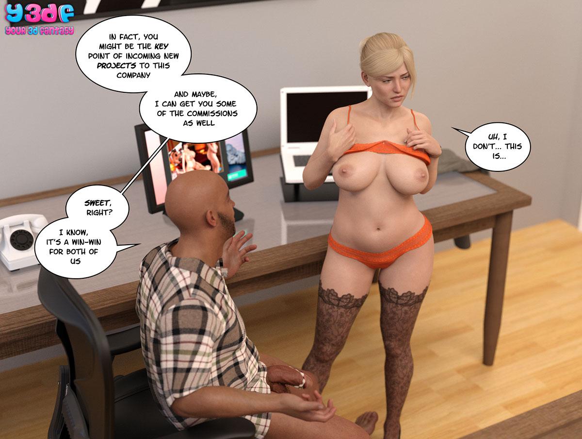 """Y3DF comic """"Circle 3"""" - page 31"""