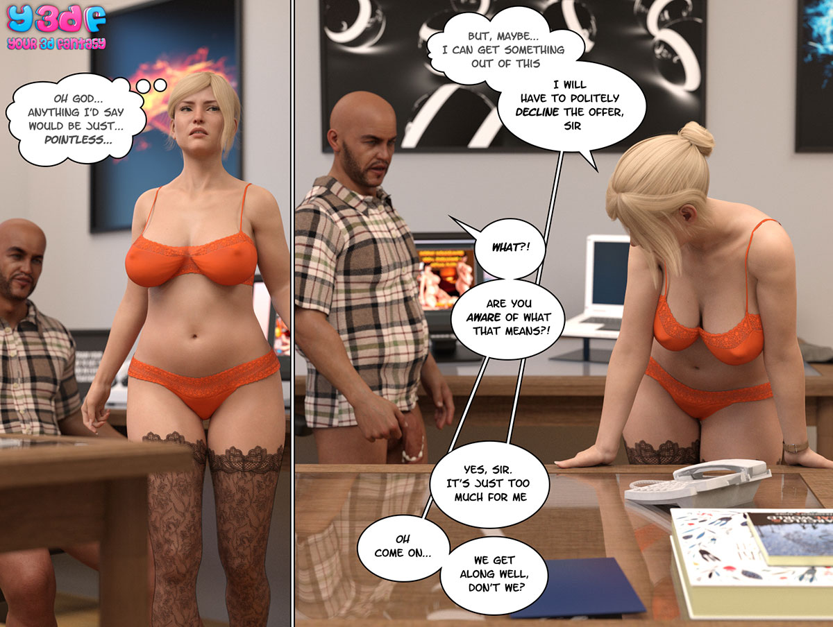 """Y3DF comic """"Circle 3"""" - page 32"""
