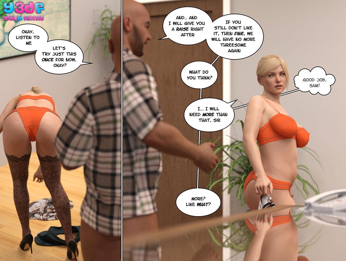 """Y3DF comic """"Circle 3"""" - page 34"""