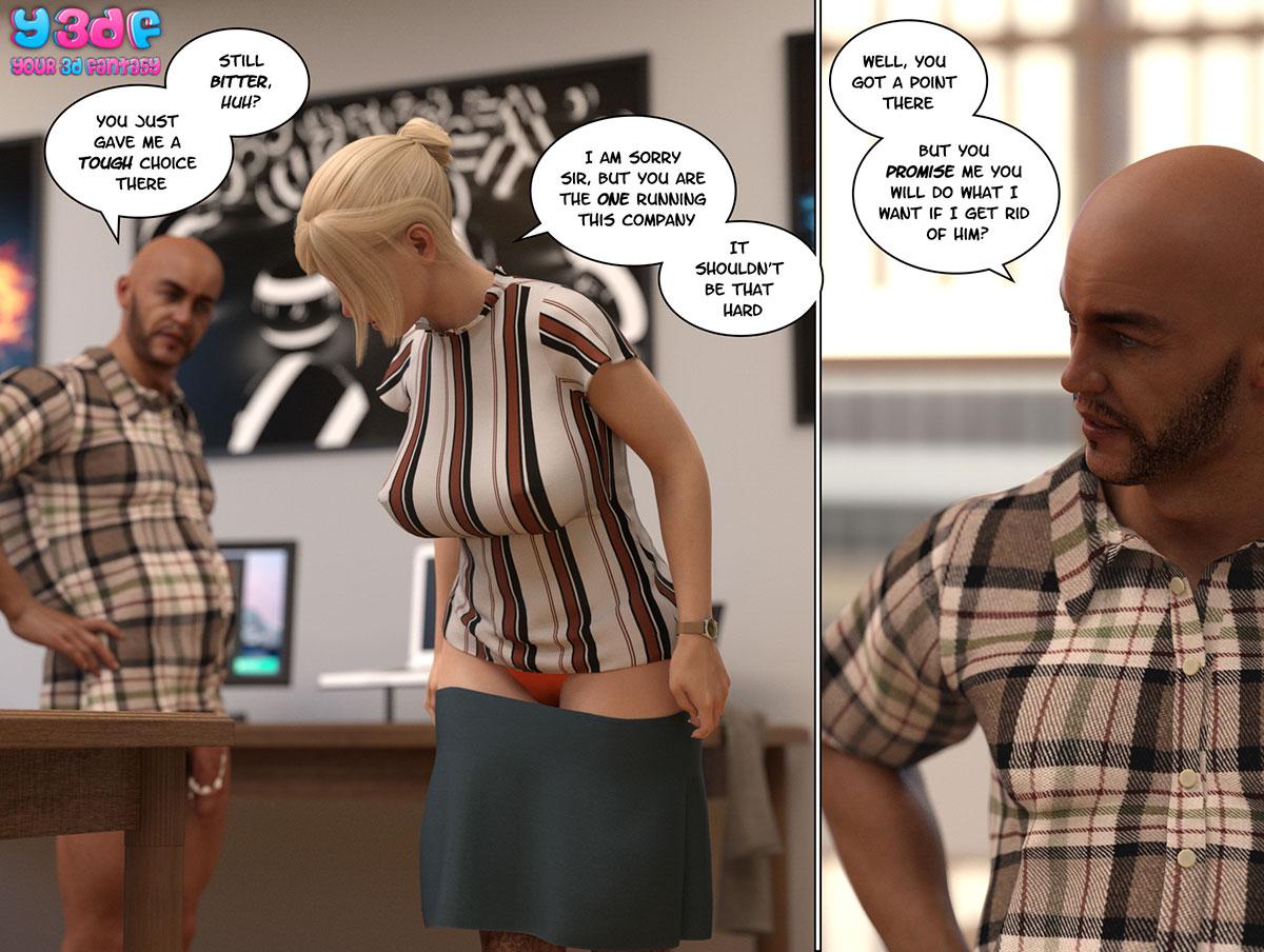 """Y3DF comic """"Circle 3"""" - page 36"""