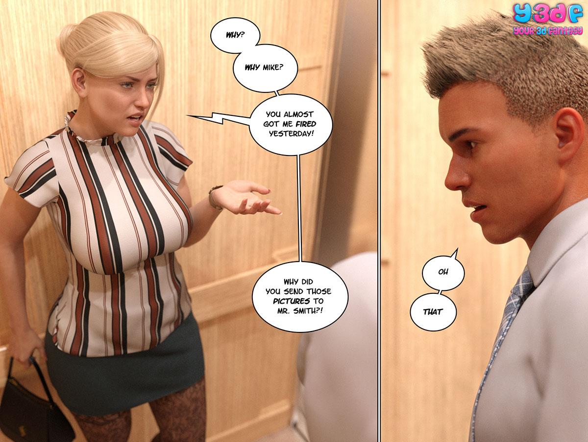 """Y3DF comic """"Circle 3"""" - page 4"""