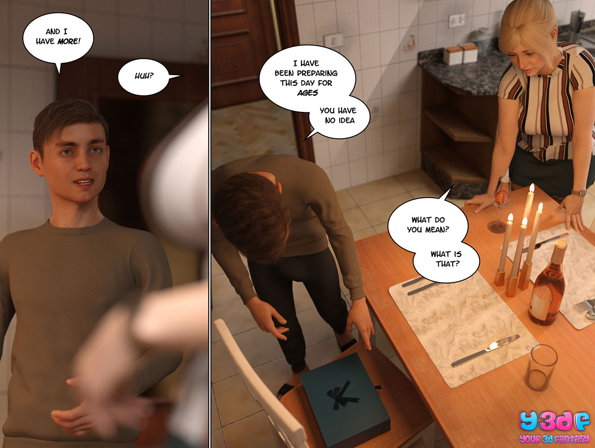 """Y3DF comic """"Circle 3"""" - page 43"""