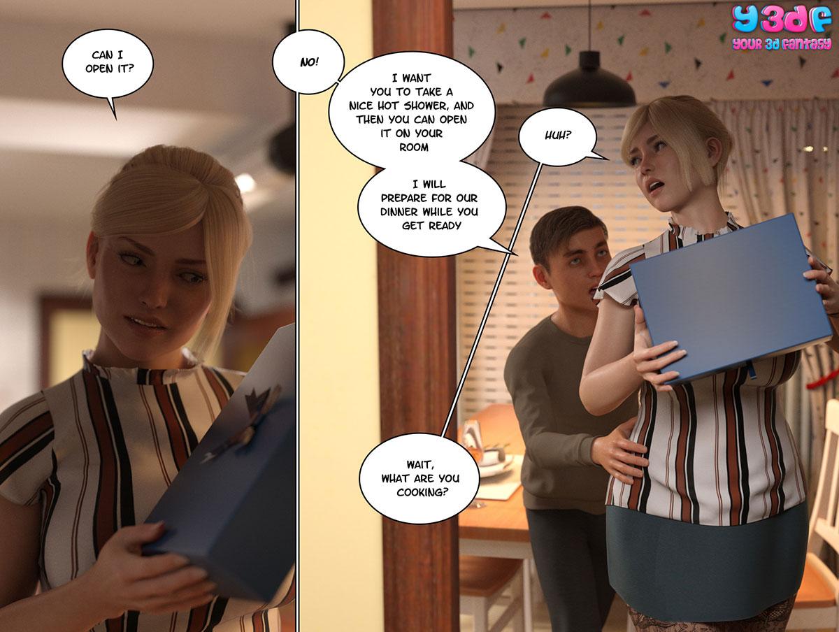 """Y3DF comic """"Circle 3"""" - page 45"""