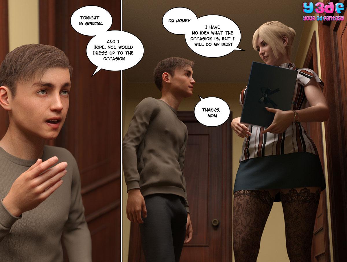 """Y3DF comic """"Circle 3"""" - page 47"""