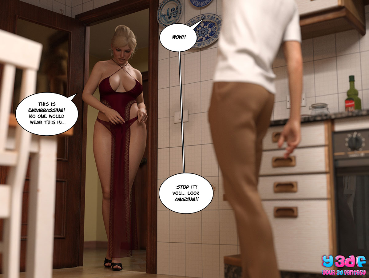"""Y3DF comic """"Circle 3"""" - page 55"""