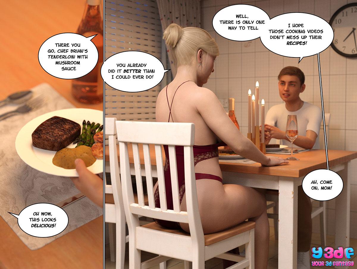 """Y3DF comic """"Circle 3"""" - page 58"""