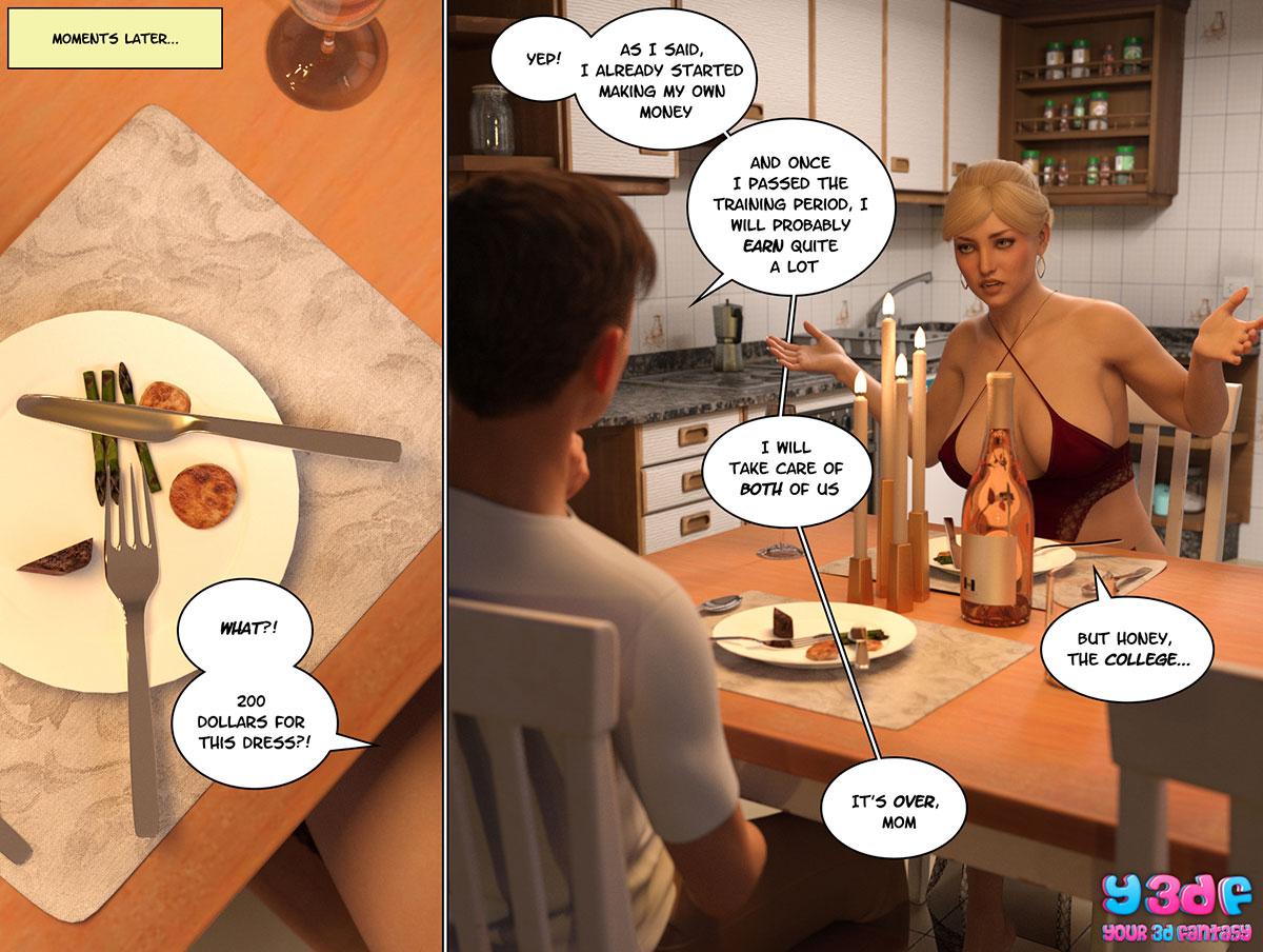 """Y3DF comic """"Circle 3"""" - page 60"""