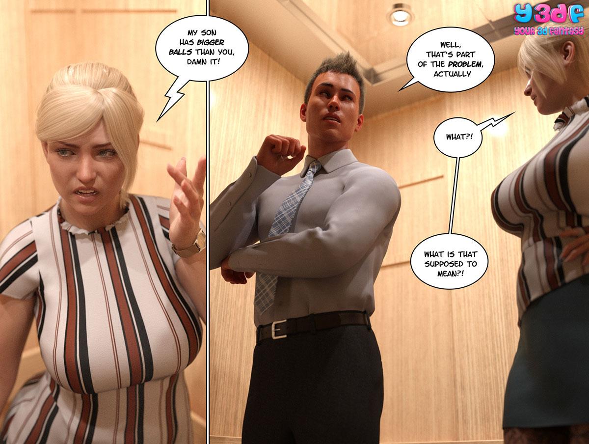 """Y3DF comic """"Circle 3"""" - page 7"""