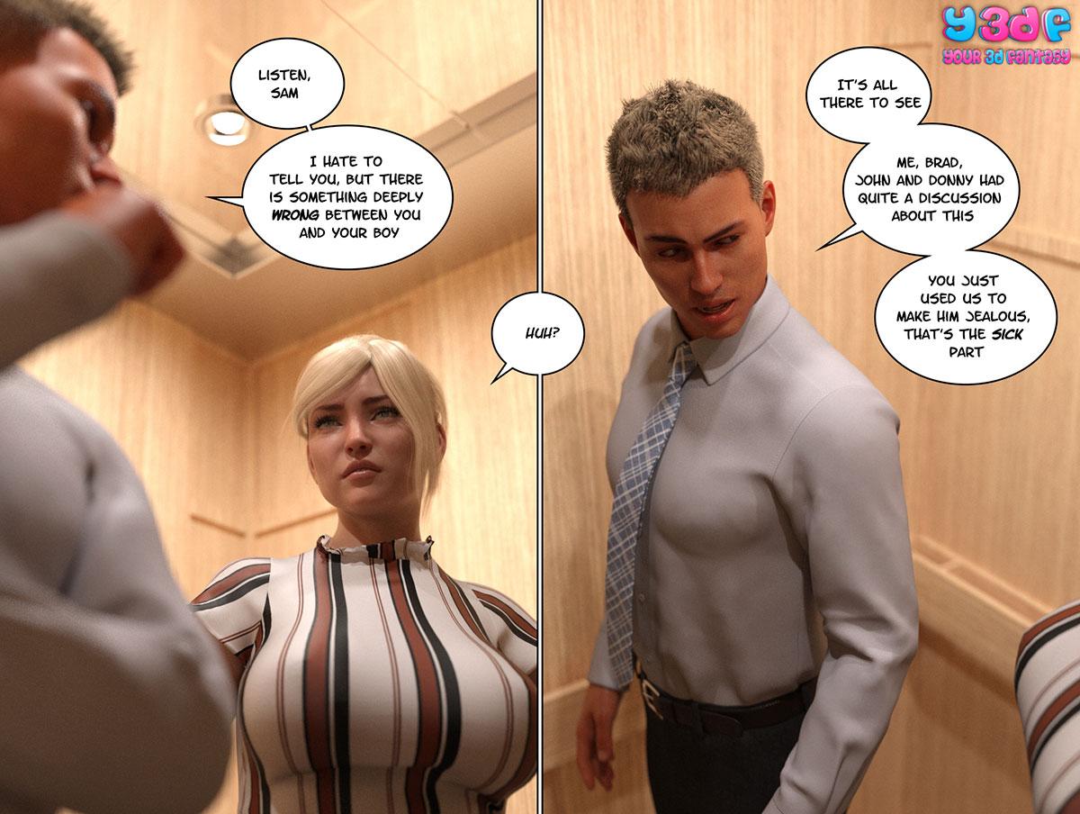 """Y3DF comic """"Circle 3"""" - page 8"""