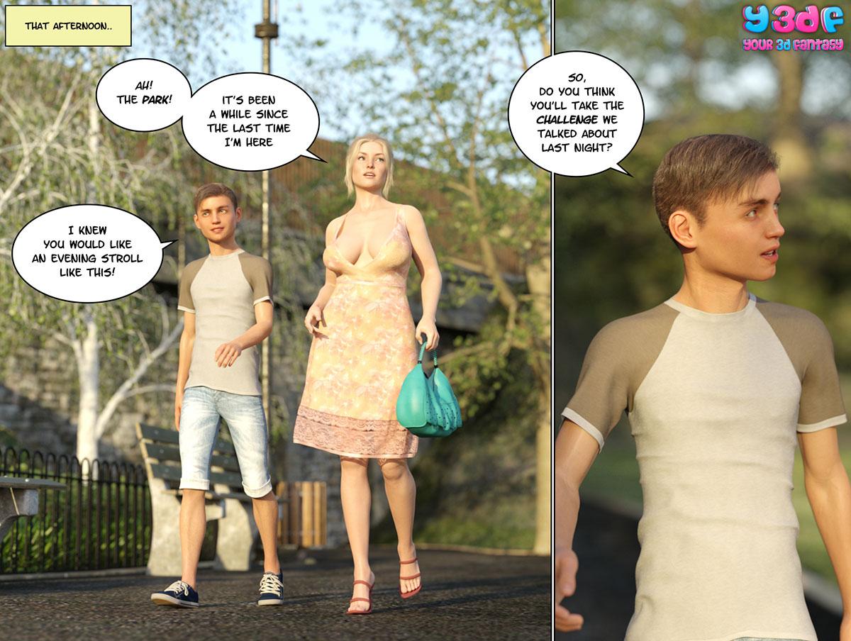 """Y3DF comic """"Circle 3"""" - page 81"""